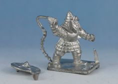 Minifigs - Dungeons & Dragons - hbg8a - Hobgoblin with Barbed Whip