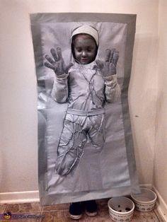 Han Solo in Carbonite - DIY Halloween Costume Idea