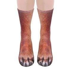 Realistic Animal Socks Will Make You Look Like You Have Animal Paws | Bored Panda