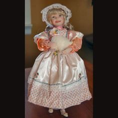 Ashton Drake Doll Mary Had a Little Lamb Children and Mother Goose Collection #SYLink