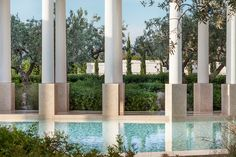 Colonnade at Amanzoe, Porto Heli, Greece