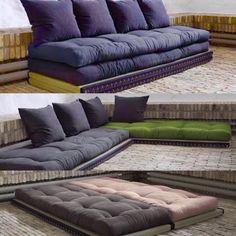 Divano letto chico sofa karup con tatami e futon we tatami pinterest futon couch futon - Cuscini da pavimento ikea ...