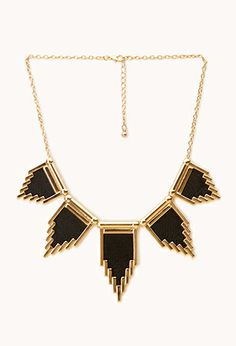 Black necklace from Forever 21