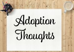 Adoption Thoughts-11 Years out and really struggling with everything this year.