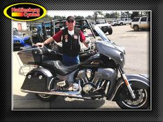 Thanks to Ron Moore from Carriere MS for getting a 2017 Indian Roadmaster @HattiesburgCycles