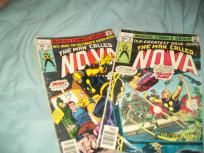 Man called Nova comics Vol1, #16,20 (set of 2 )