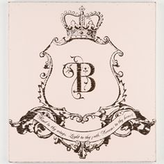 custom crest for baby's room featured on KooKooBear Kids