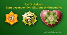 Les 3 chakras dont dépendent les relations sentimentales  Il y a de nombreuses raisons pour lesquelles une relation sentimentale ne dure pas, se complique ou qu'il soit quasiment impossible d'en avoir. Les chakras concernés sont : 1) deuxième chakra, le chakra sacré 2) troisième chakra, le chakra du plexus solaire 3) quatrième chakra, le... http://www.patricia-chaibriant.com/2017/les-3-chakras-dont-dependent-les-relations-sentimentales.html