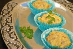 Hoje para jantar ...: Muffins de salsicha e cogumelos