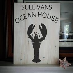 for those who live by the ocean or wish they did Nova Scotia Lobster, Urban Rustic, Ocean House, Inspirational, Live, Home Decor, Decoration Home, Room Decor, Interior Design