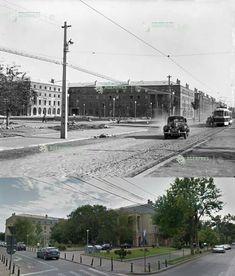 Bucurestii Noi, 1955 Bucharest Romania, Time Travel, Buildings, Louvre, Traveling, Memories, Times, Dark, World