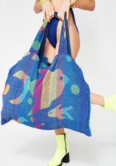 Current Mood Fish Bish Towel Tote