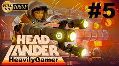Headlander Gameplay Walkthrough (PC) Part 5:Kill Queen Gladiatorial Grid...