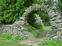 Drystone Wall Garden arch