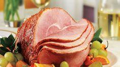 Best Choice Pepper Peach Glazed Ham. Perfect for Easter brunch.