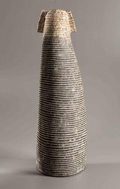 Petra Bittl, Vessel, 2013, stoneware and porcelain