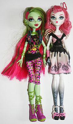 VENUS and CUPID Monster High Dolls!!!!!