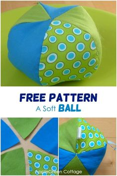 How to sew a soft ball, a perfect diy toy for babies! Get the free sewing pattern for this baby toy Animal Sewing Patterns, Sewing Patterns Free, Free Sewing, Pattern Sewing, Free Pattern, Baby Sewing Projects, Sewing Projects For Beginners, Sewing Hacks, Sewing To Sell