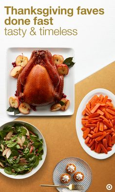 Want to host Thanksgiving fast and without a flaw? Click to discover carefully curated recipes for that someone who wants to impress in an instant. This Tasty & Timeless recipe collection has it all. From the classic cider brined turkey to easy mashed potatoes to pumpkin pie bites and more. You'll be able to ace every Thanksgiving staple and show off your hosting skills.