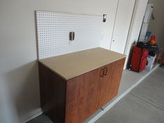 workbench with mdf top