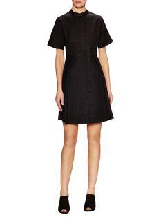 Proenza Schouler Cotton A-Line Shirtdress