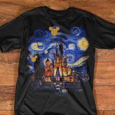 Starry night at Disneyland