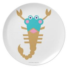 Scorpio Dinner Plate