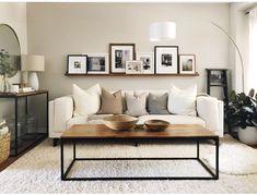 Furniture Ideas For A Scandinavian Living Spaces New Living Room, Home And Living, Living Room Decor, Living Spaces, Decor Room, Old Sofa, Diy Furniture Couch, Furniture Ideas, Beautiful Home Designs