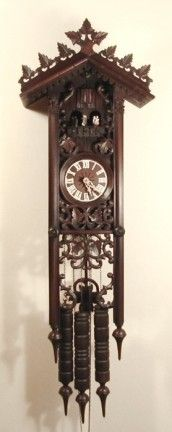 All About Time, Inc. - 8365 German 8-Day Black Forest Cuckoo Clock, $2,399.00 (http://allabouttime.net/8365-german-8-day-black-forest-cuckoo-clock/)