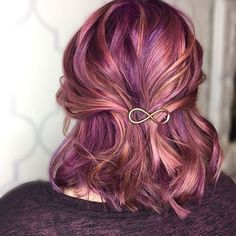 @tmarie_hair from @lushsalonnh is the artist... Pulp Riot is the paint.