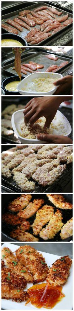 toptenlook: Coconut Chicken Tenders Recipe