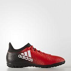 Zapatillas de fútbol X 16.3 Pasto Artificial - Rojo Soccer Shoes e0157977ed9de