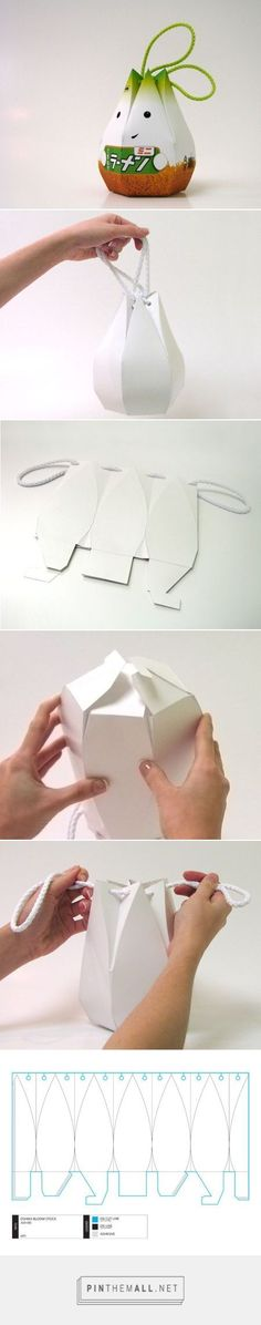 Creative Oshika Packaging on I New Idea Homepage ever wonder how this cute - Packed Gifts Cool Packaging, Brand Packaging, Gift Packaging, Packaging Design, Packaging Ideas, Packaging Supplies, Diy And Crafts, Paper Crafts, Diy Box