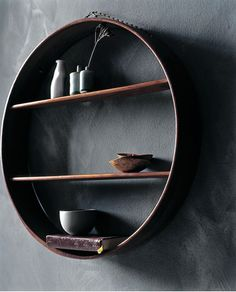 zen japanese modern shelf