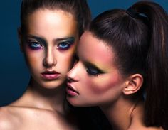 Birds of paradise beauty editorial
