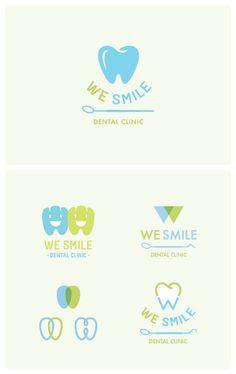 We Smile Dental Clinic Logo / Bangkok design by Narueb Nakprasert