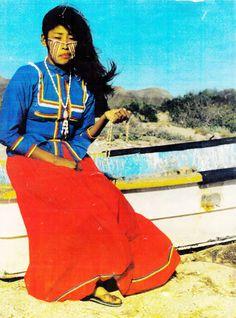 Yaqui Indians Sonora Mexico | La vestimenta de la mujer seri -considerado trajae típico de Sonora ...
