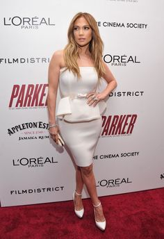 """Jennifer Lopez - FilmDistrict With The Cinema Society, L'Oreal Paris And Appleton Estate Host A Screening Of """"Parker"""" - Arrivals"""