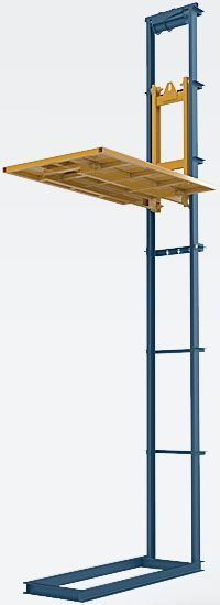 Low cost vertical cargo elevators by custom project. Delivery from the manufacture to Bulgaria and Europe. Garage Lift, Garage Door Lock, Lift Design, Wall Design, Attic Lift, Lifting Platform, Elevator Design, Building Stairs, Ral Colours