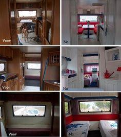 Caravan Vintage, Vintage Caravans, Vintage Trailers, Glamping, Doors, Furniture, Inspiration, Rv, Home Decor