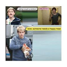 funny one direction | Tumblr ❤ liked on Polyvore Am I the Only one that read this with their voices?