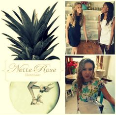 We are excited to announce that we are now stocking local designer range Nette Rose! Perfect for Spring, her shift dresses are available in plain colours as well as various prints. The printed chiffon crop tops can be worn on their own or over the shift dress :)