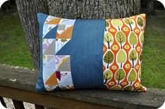 Central Park Pillow (back)