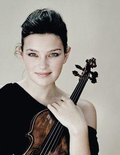Violinist Janine Jansen.