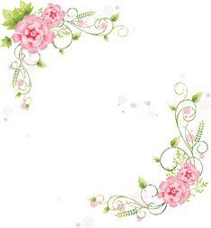 Scrap rosas vintage   arte para decoración   ilustraciones