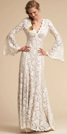 Courtesy of BHLDN wedding dresses