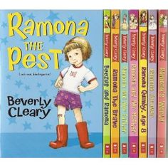Love the Ramona books by Beverly Cleary.