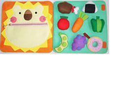 大きい布絵本 Felt Crafts, Diy And Crafts, Flannel Board Stories, Busy Book, Kids And Parenting, My Books, Baby Kids, Kids Rugs, Activities