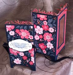 Stampin' Up!- Everything Is Rosy Fun Fold Cards, Folded Cards, Cute Cards, Everything's Rosie, Screen Cards, Scrapbook Organization, Creative Cards, Stampin Up Cards, Cardmaking