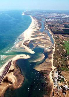 Ilha de Cabanas lagoons - Tavira - Algarve - Portugal